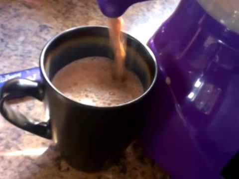 Cadbury Hot Chocolate Maker Video 2 Youtube