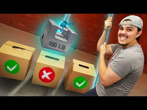 DON'T Crush The Wrong Mystery Box Challenge!