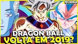 ANIME DRAGON BALL SUPER PODE VOLTAR COM TUDO EM 2019