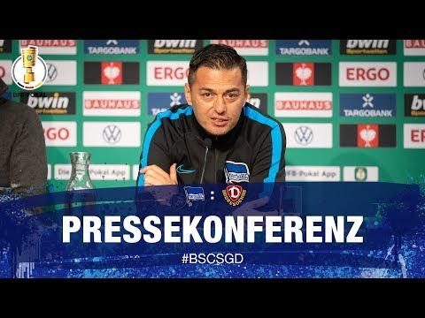 PK nach SG Dynamo Dresden - DFB-Pokal - 2. Runde - Hertha BSC