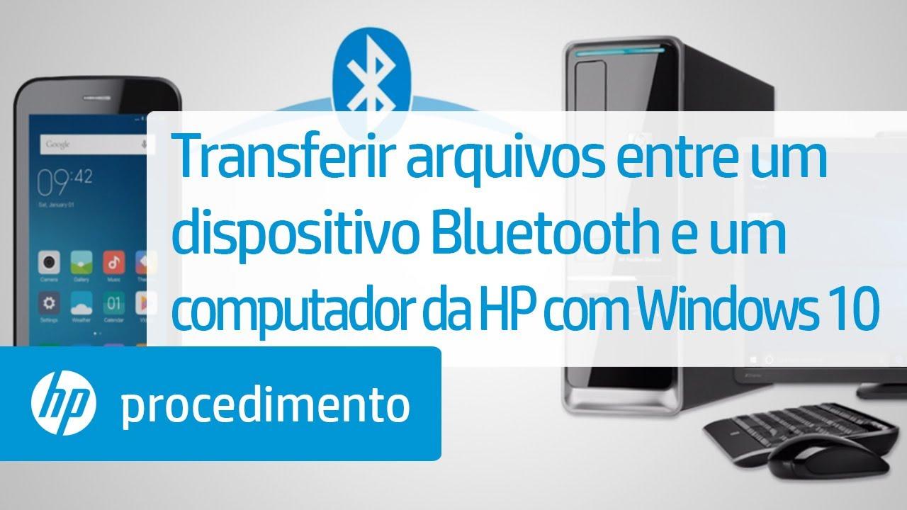 bluetooth para pc para transferir arquivos