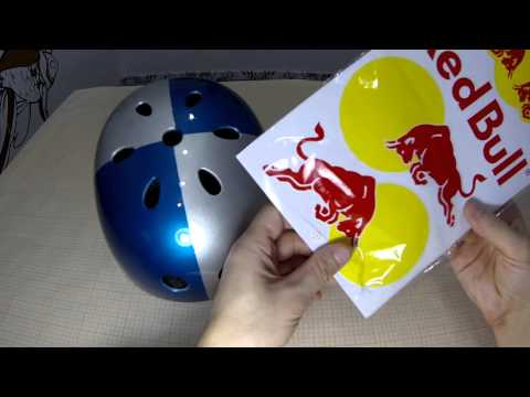How To Make A Red Bull Helmet Youtube
