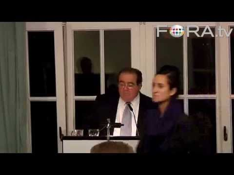 Globalization and the law - Justice Antonin Scalia (2009)