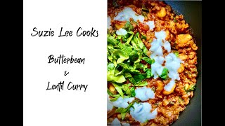 Suzie's Butterbean and Lentil Curry (as featured on Love Belfast)