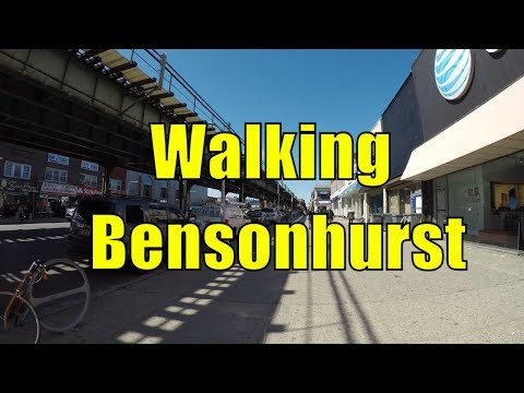 ⁴ᴷ Walking Tour of Bensonhurst, Brooklyn, NYC (Bay Parkway, 20th Avenue, 18th Avenue, 86th Street)