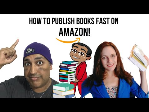Learn How To Publish Books On Amazon Fast By Creator Of 1000+ Books, Bonus Included!
