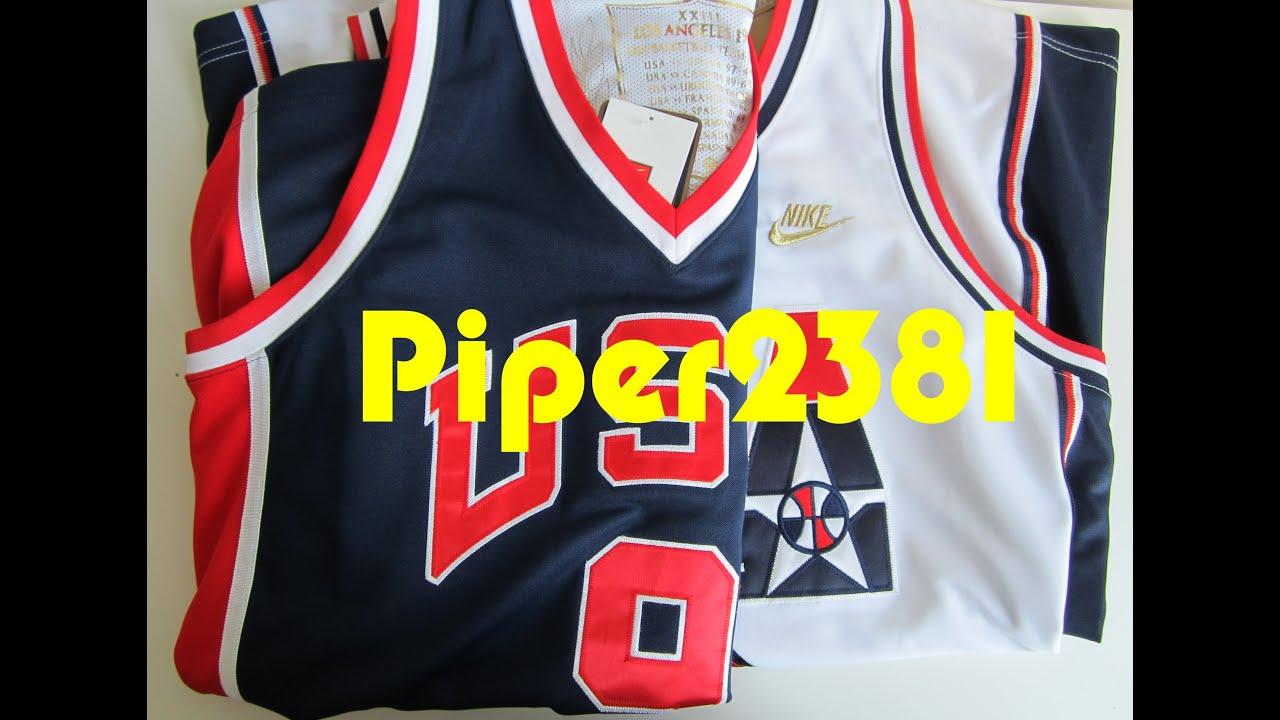 more photos af137 f5c23 Michael Jordan Olympic Jerseys