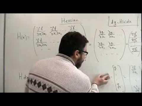 Lecture 2-3: Gradient and Hessian of Multivariate Function (enhanced)