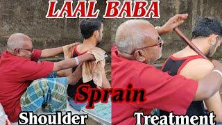 LAAL BABA💈 Shoulder sprain relief in ten minutes💈 MASTER ASMR💈#ASMR