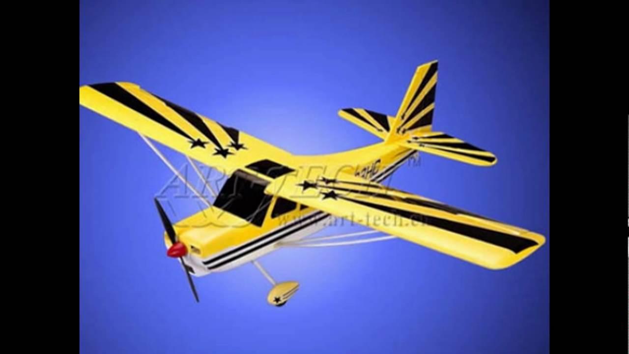 Действующие модели самолётов своими руками