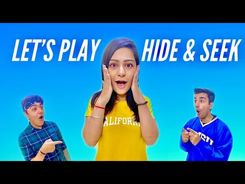 LET'S PLAY HIDE & SEEK TOGETHER CHALLENGE | Rimorav Vlogs