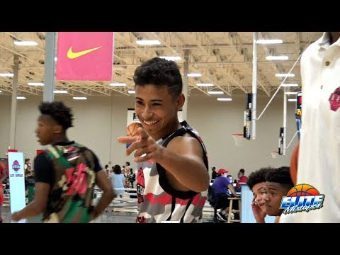 Julian Newman is CLUTCH! 1st Game from In The Gym Hoops