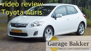 Video review Toyota Auris 1.8 Full Hybrid Executive, 2010, 38-RXN-5