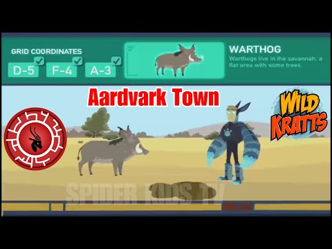 Wild Kratts Games #31: Wild Kratts Aardvark Town (Part 2) - PBS Kids!