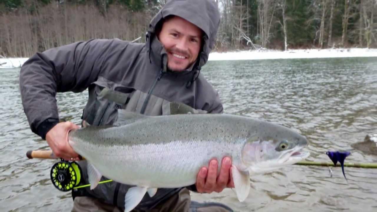 Bc winter steelhead spey 2012 youtube for British columbia fishing license