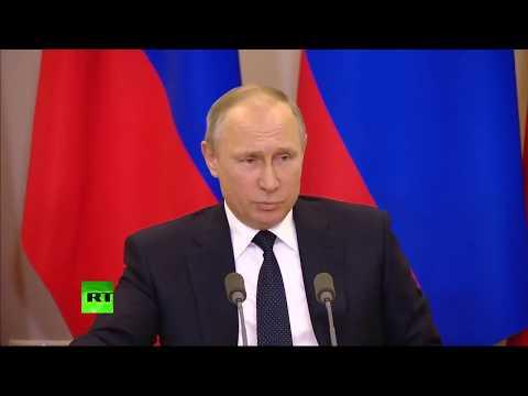 """Путин объявил """"выговор"""" Лаврову"""