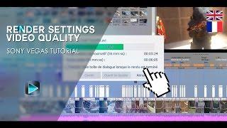 Best Render Settings & Improve Video Quality   Sony Vegas Tutorial #3