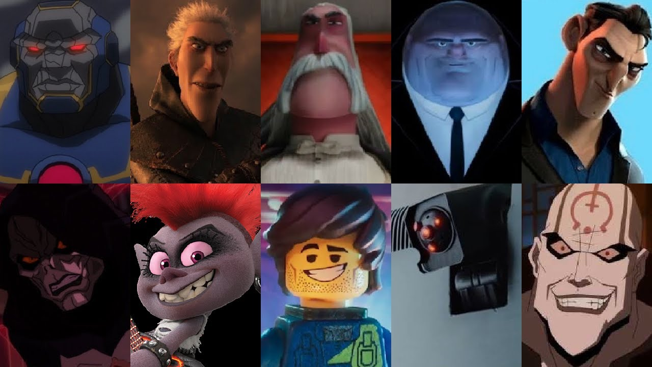 Defeats of My Favorite Animated Non-Disney Movie Villains Part 9 (Birthday Special)