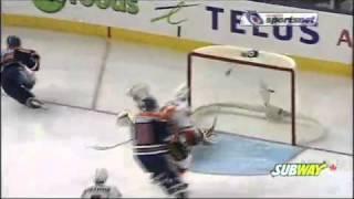 Eberle's first career NHL goal