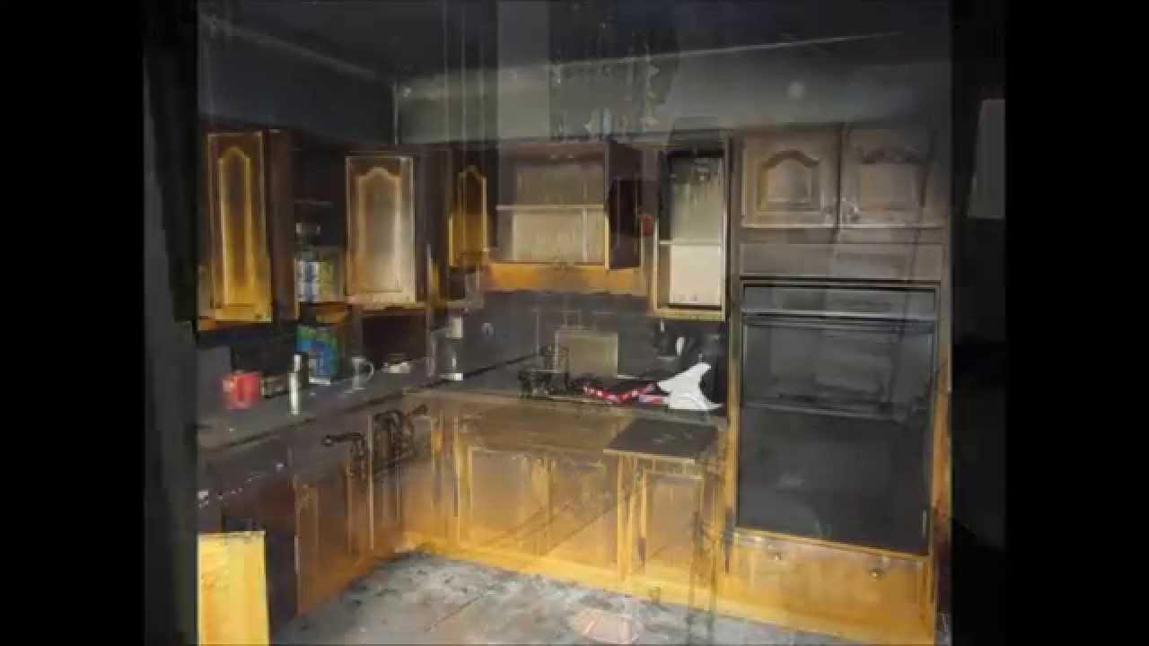 fire damage restoration youtube