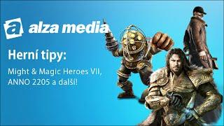 Herní tipy: Might&Magic Heroes VII, Bioshock Triple Pack, Anno 2205  a další! - Alza Media #12