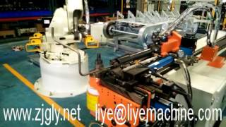 Robot automatic feeding Pipe Tube Bending Machine(DW38CNC3A1S)