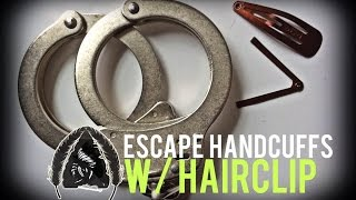 How to Shim Handcuffs