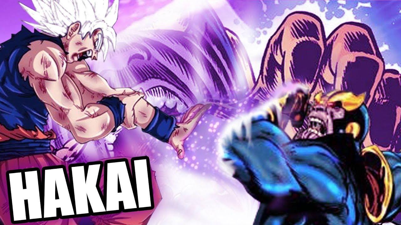 Goku Vs Thanos: GOKU VS THANOS DE LAS PELICULAS Y LOS COMICS