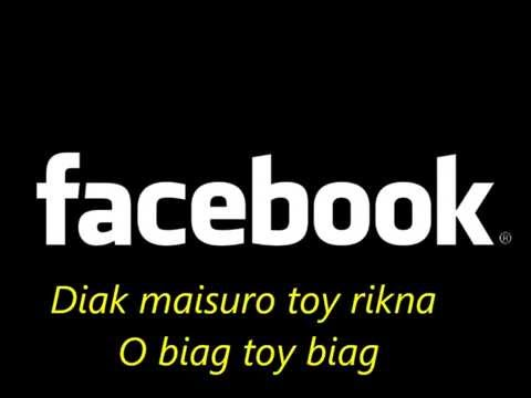 Facebook (Ilocano Love Song - Karaoke With Lyrics) - Alexander Barut