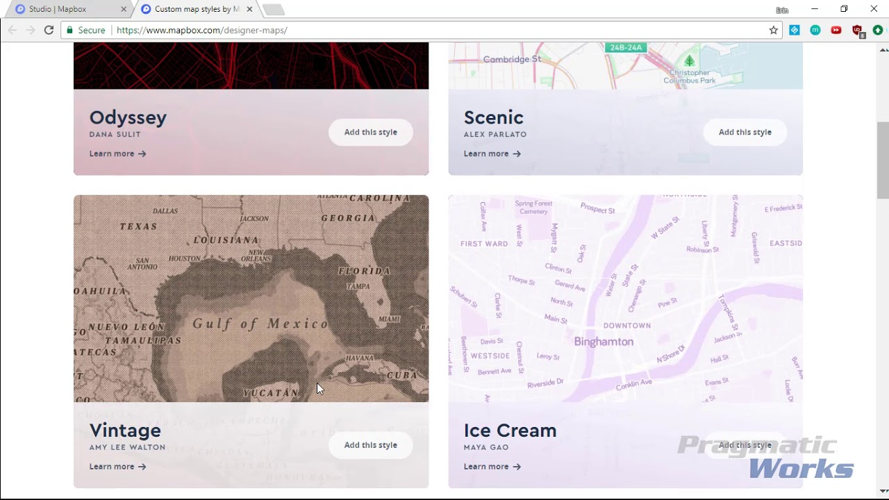 Power BI Custom Visuals - Mapbox Visual