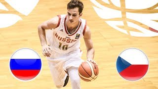 LIVE Russia v Czech Republic FIBA U20 European Championship Division B 2018