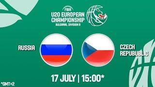 LIVE 🔴 - Russia v Czech Republic - FIBA U20 European Championship Division B 2018