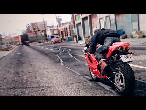 ASÍ PODRÍA VERSE GTA 6 PARA UN FUTURO !! - GTA V GRAFICA REALISTA MOD GRAND THEFT AUTO VI