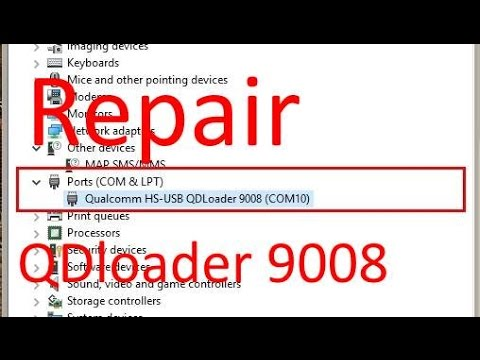 How to repair Samsung S3 SCH-i535 Qdloader 9008