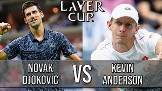 Novak Djokovic Vs Kevin Anderson - Laver Cup 2018 (Highlights HD)