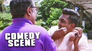 Comedy Scene Of Dhruva Sarja | South Indian Hindi Dubbed Comedy Scenes | Dhruva Sarja