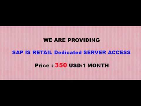 SAP IS RETAIL Remote Access | SAP IS RETAIL Server Access