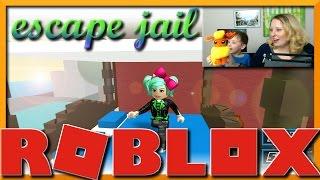 ROBLOX | Escape Jail Obby 2 | SECRETS of the Jailbreak | with my son John | SallyGreenGamer