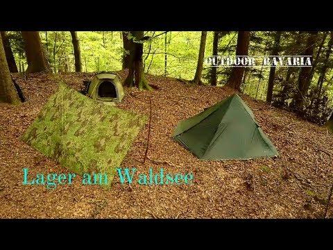 Der versteckte Waldsee - Bushcrafttour mit Übernachtung - Outdoor Bavaria