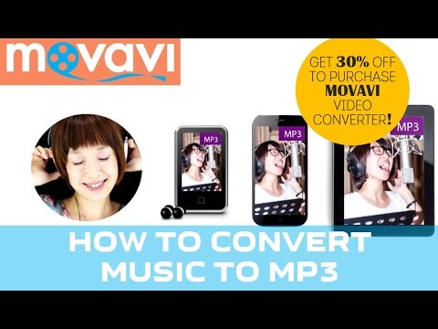 How to Convert Music to MP3  (30% DISCOUNT!)