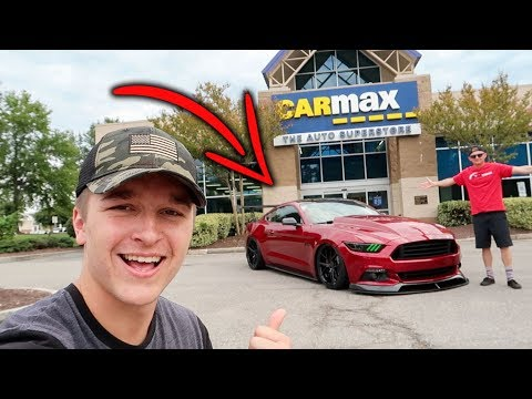 He Took His HEAVILY Modified Mustang GT to CarMax For an Appraisal! (You'll NEVER Guess!)