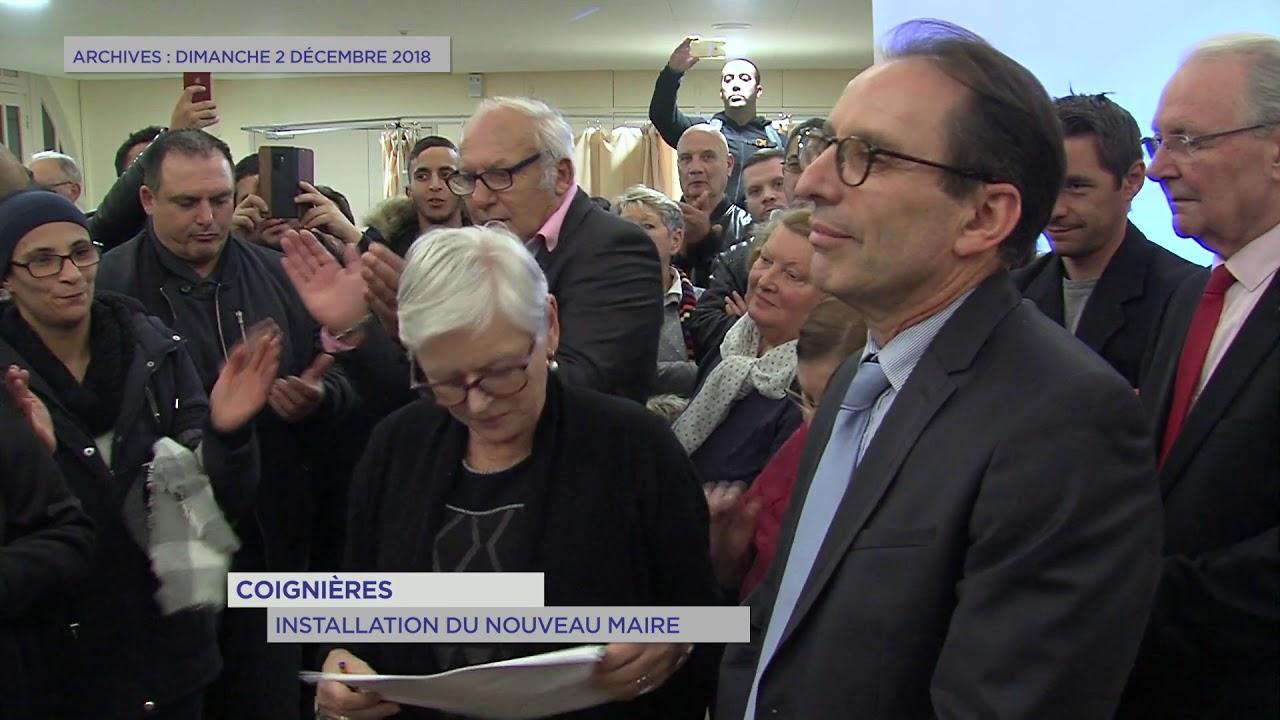 Yvelines | Installation du nouveau maire à Coignières