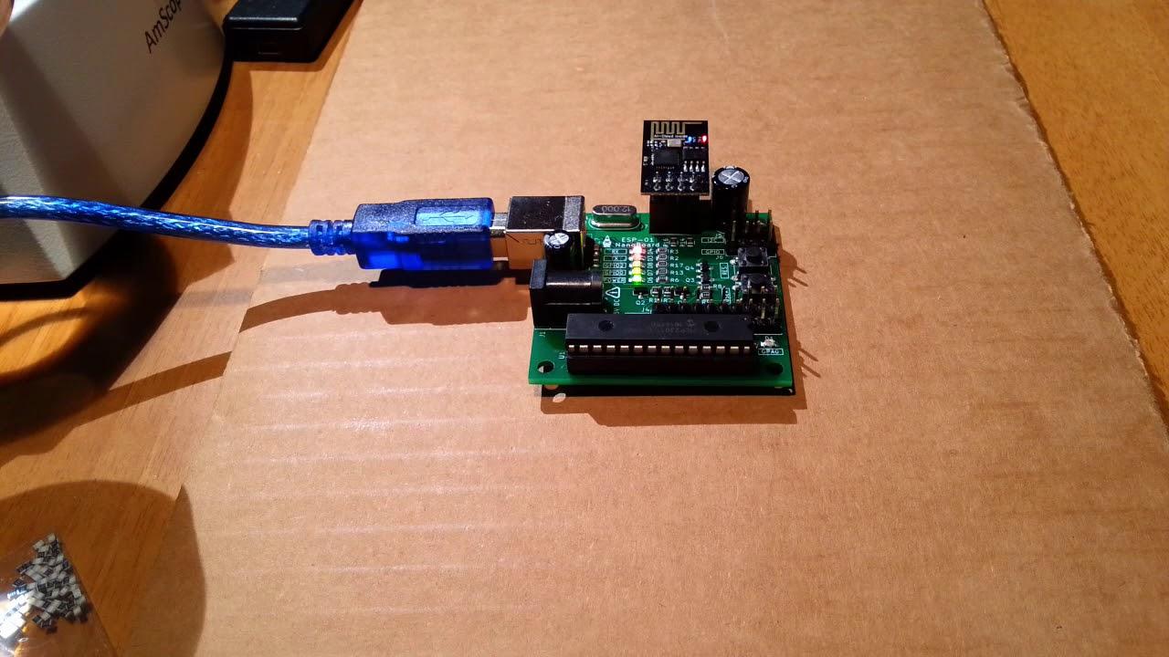 ESP-01 NanoBoard (ESP8266) – ElettroAmici