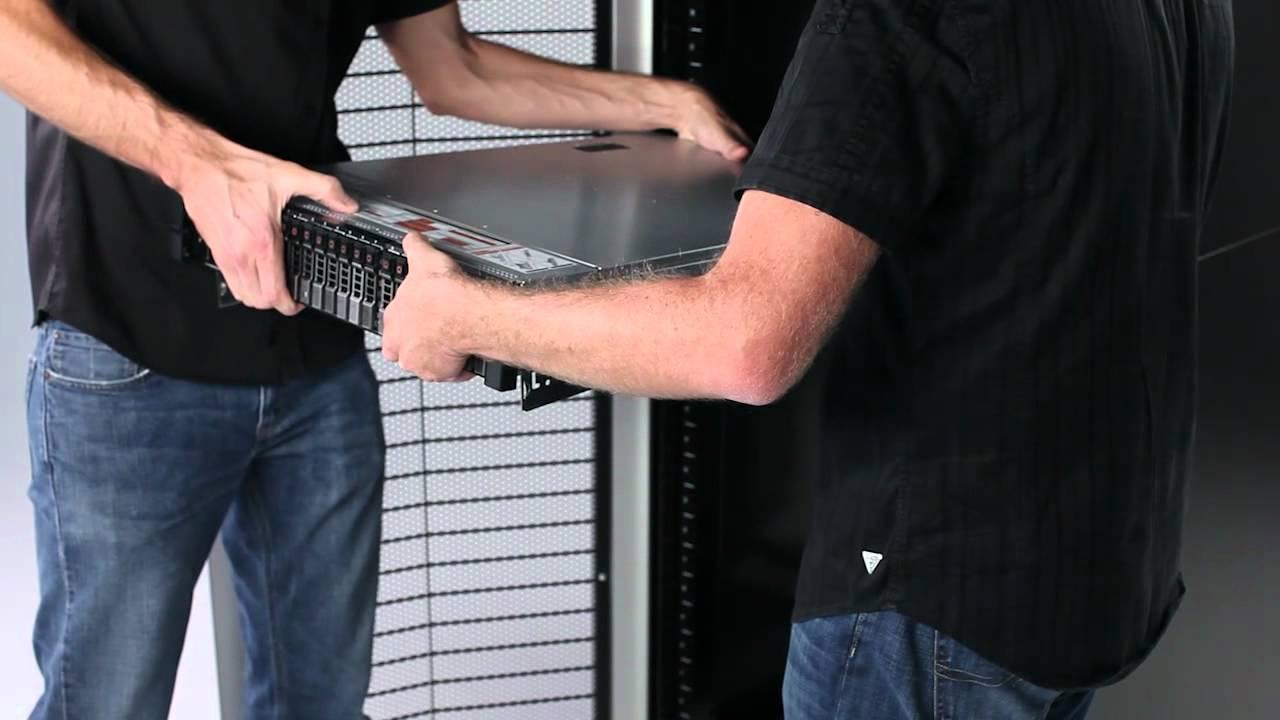 poweredge r720  installation in rack