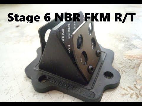Обзор лепесткового клапана Stage6 NBR FKM RT Minarelli