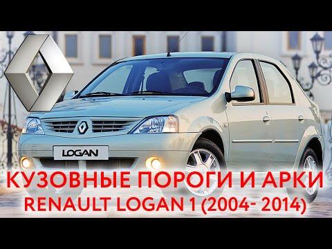 Renaut Logan 2004-2014: пороги и арки для ремонта кузова Рено Логан