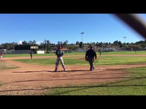 Dean West  TBTA Vipers Baseball Highlights  Mar 2018