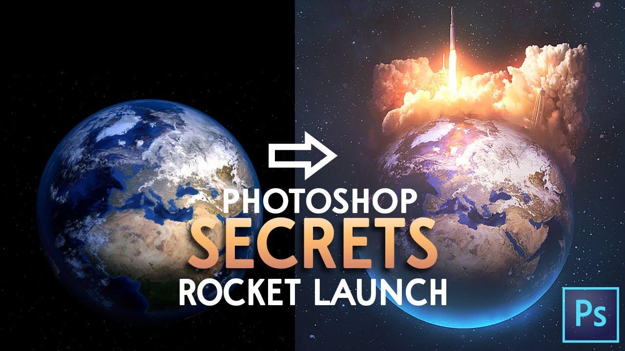 Photoshop Tutorial - Rocket Launch