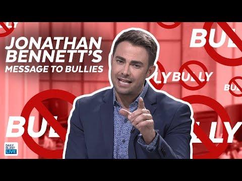 Jonathan Bennett CRUSHES Bullies!