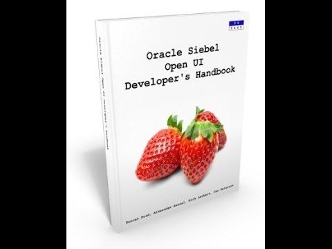 Siebel Open UI Developer's Handbook